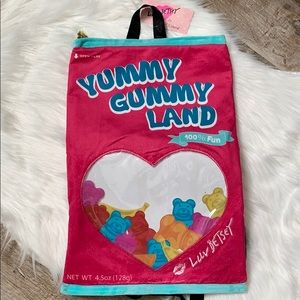 Betsey Johnson gummy backpack